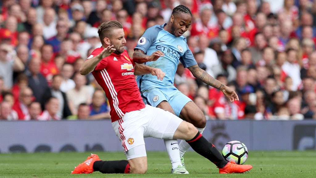 RAHEEM STERLING: In action