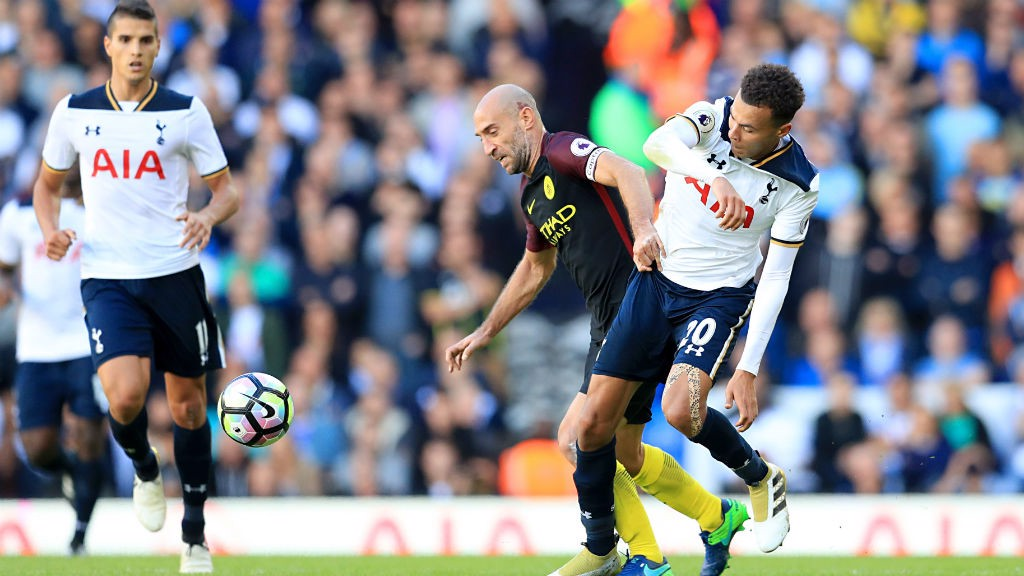 Spurs too strong for leader Manchester City