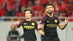 AGUERO: Two Champions League hat-tricks in three matches this season