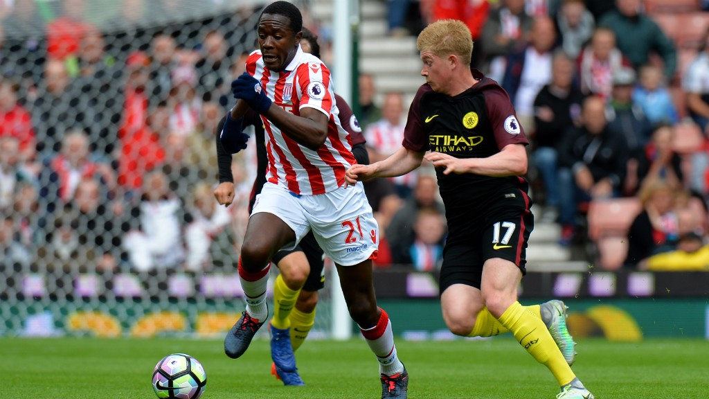 Stoke v City: Brief highlights