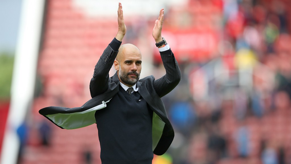 Stoke v City: Guardiola reaction