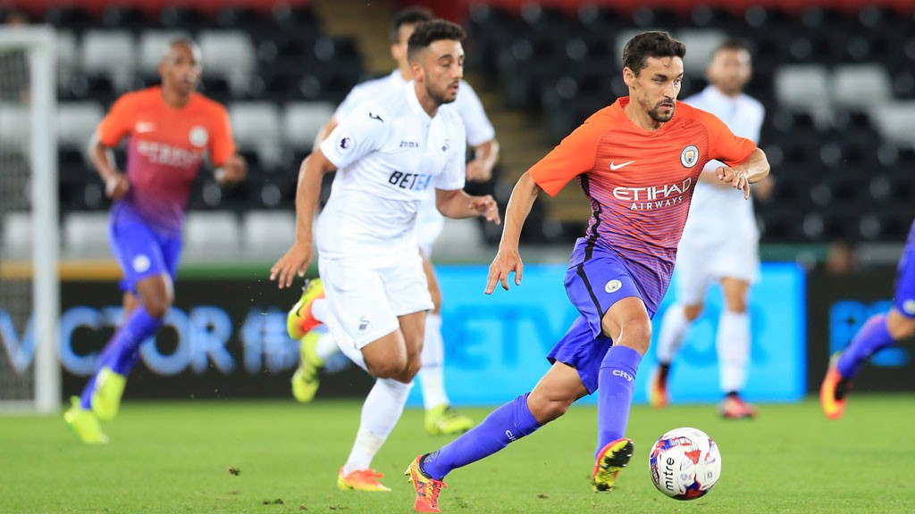 Jesus Navas In action