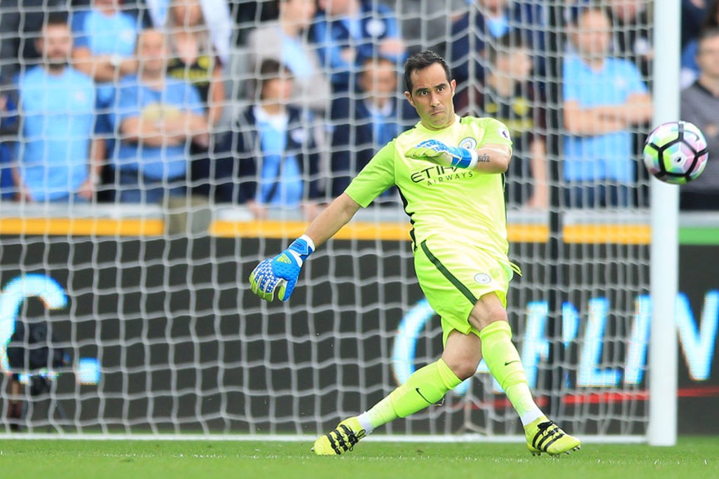 KEEPER: Bravo in action