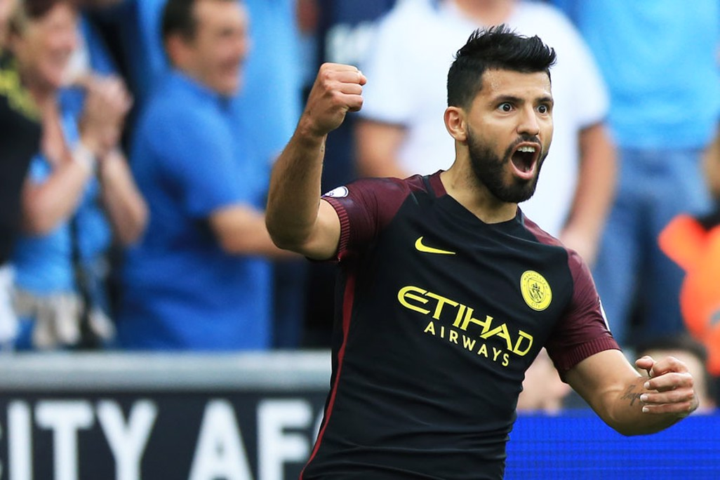 DOUBLE: Aguero doubles City's lead