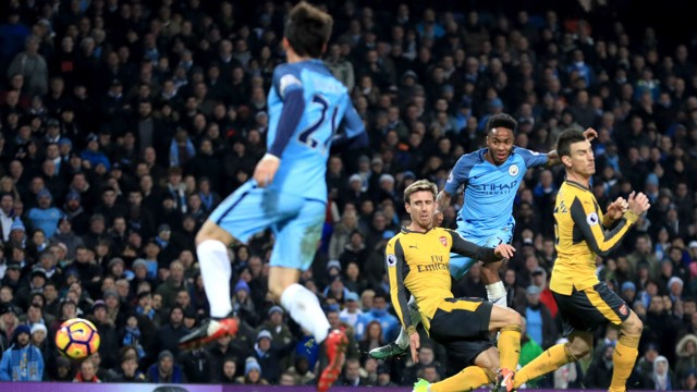 CLINICAL: Raheem Sterling scores