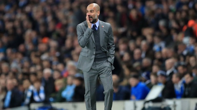 MAKING A PLAN: Pep plots City's path