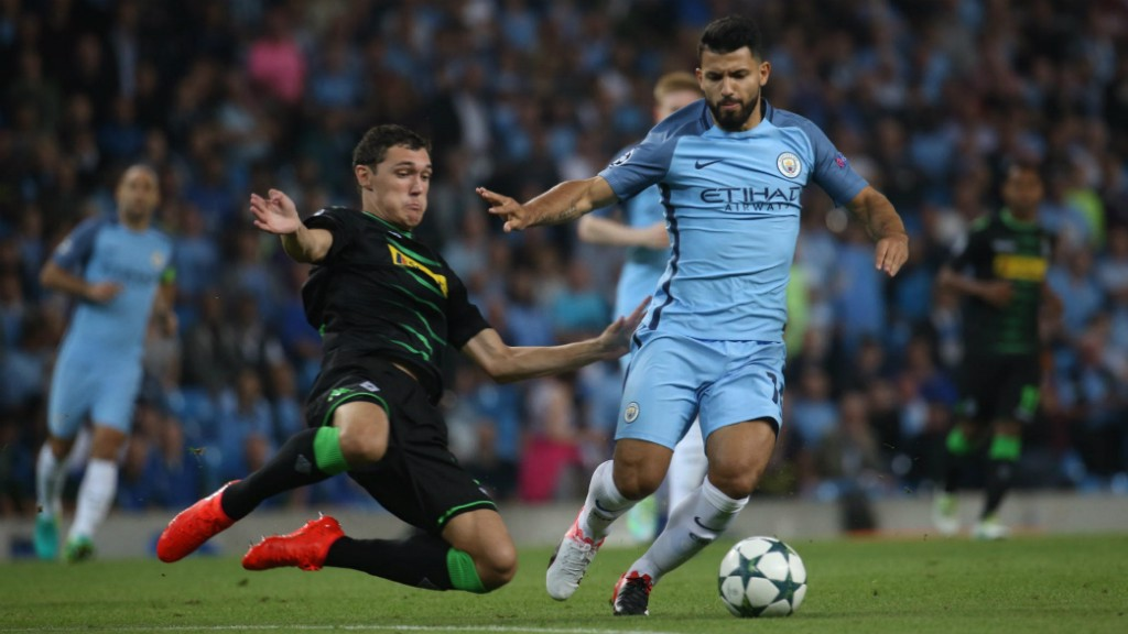 KING KUN: The clash marked Sergio Aguero's return to action