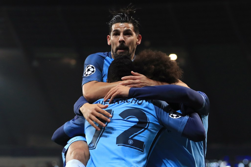 GET IN: Creator Nolito and Leroy Sane congratulate Kelechi Iheanacho on his stunning strike