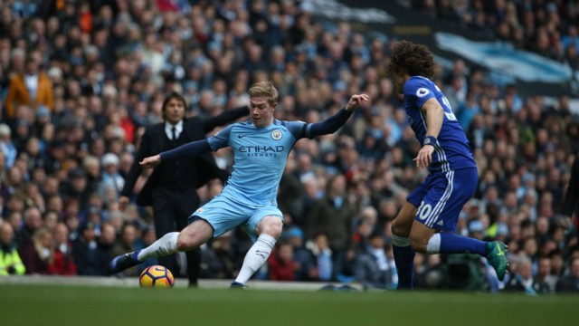 PASS MASTER: Kevin De Bruyne