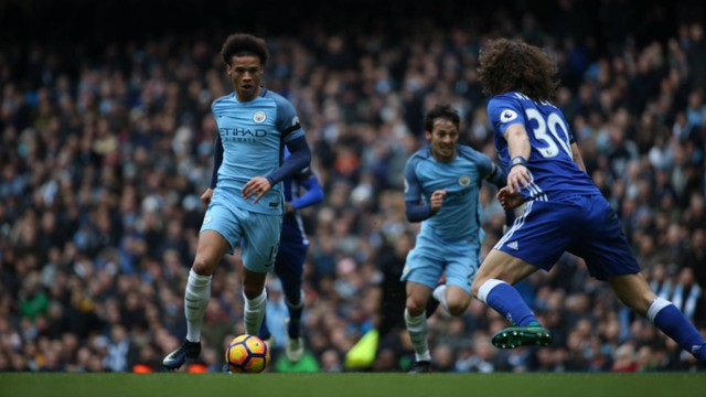 ON THE ATTACK: Leroy Sane