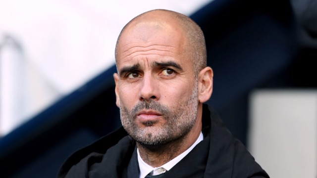WATCHING: Pep in full fixation mode during today's match