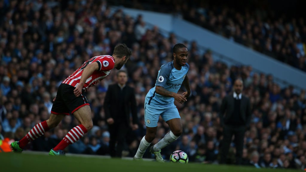 CUT INSIDE: Sterling looks to be Sam McQueen as City push for the winner