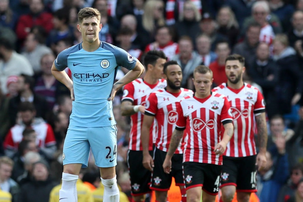 STONES: City's defender reflects after his mistake leading up to Southampton's goal