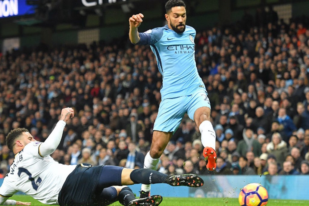 GAEL FORCE: Clichy charges forward