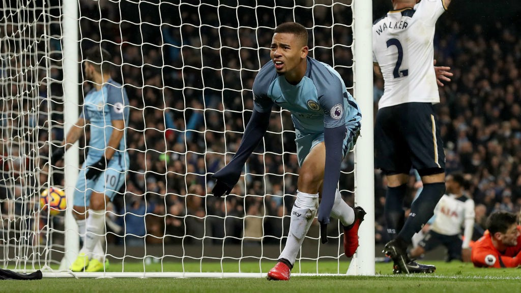 Gabriel Jesus reacts to Manchester City debut, offside goal, mother's advice