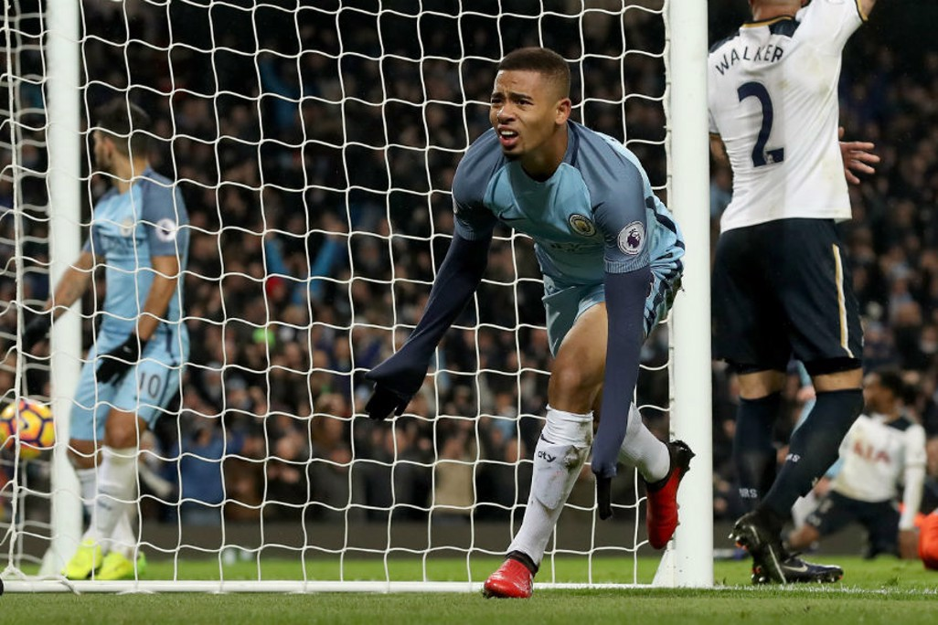 RULED OUT: Gabriel Jesus had the ball in the net but it didn't count