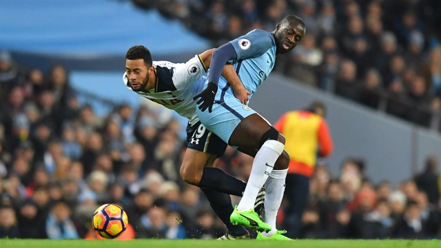 BACK TO BACK: Mousa Dembele and Yaya Toure