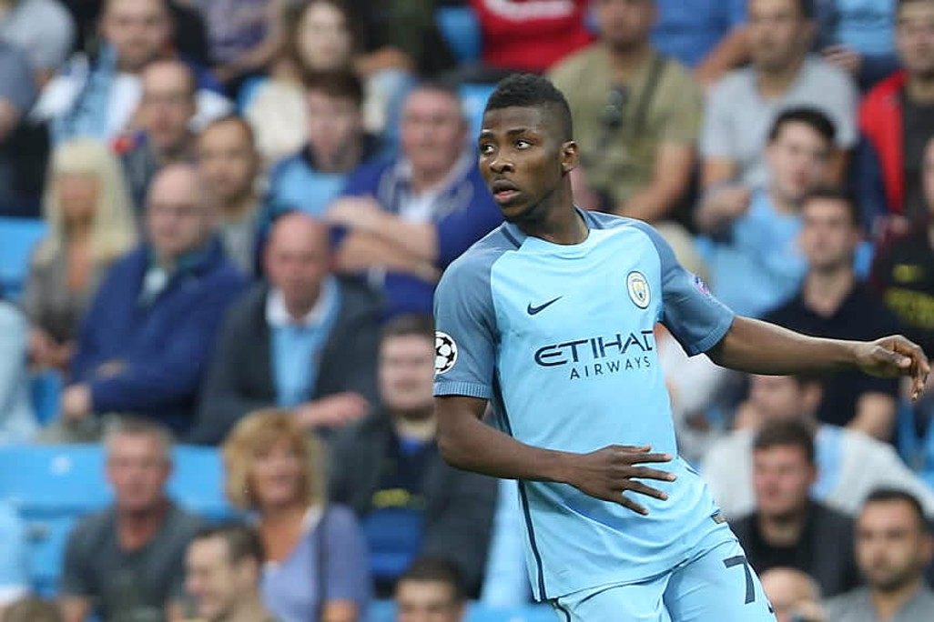 SUPER EAGLE: Kelechi in action in the early minutes