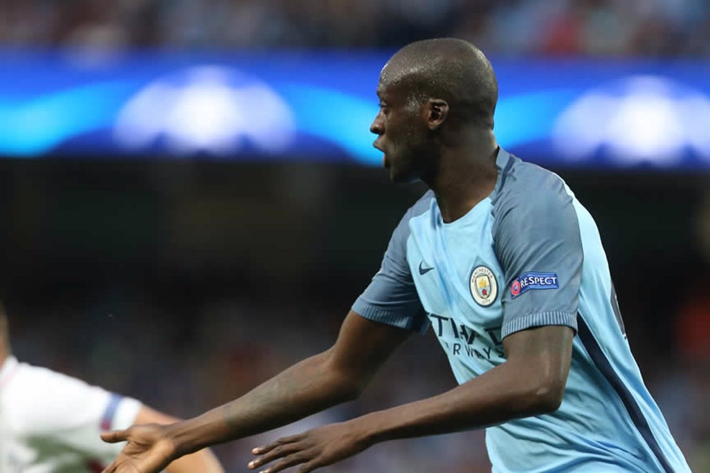 TOURE DE FORCE: Yaya pressing to win it back