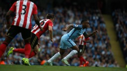 FOOT RACE: Raheem Sterling