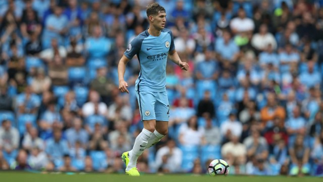 MAIN MAN: John Stones is tipped for a star showing against BMG.
