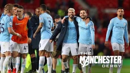 City secure vital 2-0 win at Old Trafford