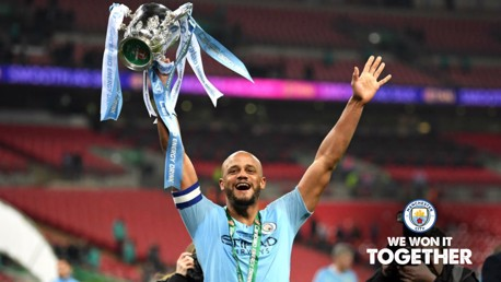 Kompany: I never tire of winning at Wembley