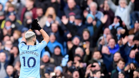 Aguero shortlisted for Player of the Month gong