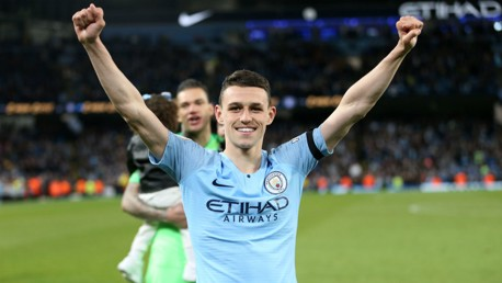 HE'S ONE OF OUR OWN: Phil Foden.