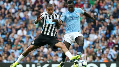 Which TV channel is Newcastle v Man City on?