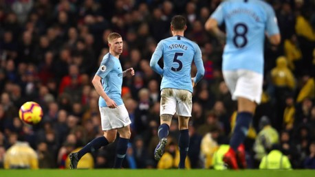 De Bruyne starts as Blues make three changes