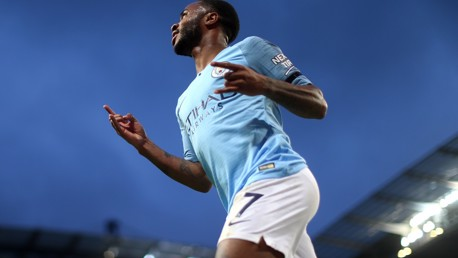 AWARD: Raheem won the November Etihad Player of the Month