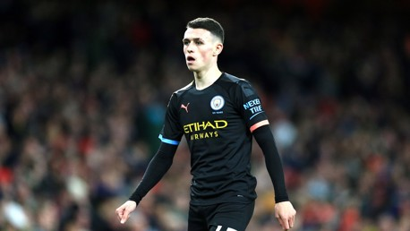 PHIL FODEN: Stellar display by the teenager