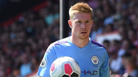 PULLING STRINGS: Kevin De Bruyne controlled the game in the midfield