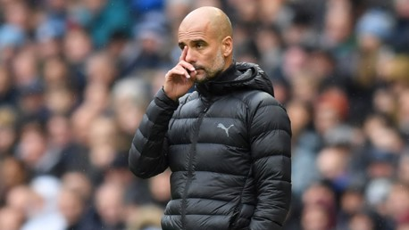'We will never hide behind excuses' says Pep