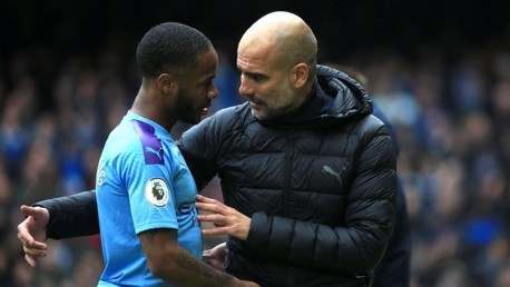 Sterling led by example, says Guardiola