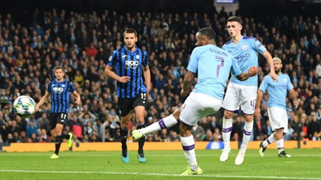 Sterling hits 11 minute hat-trick as City march on