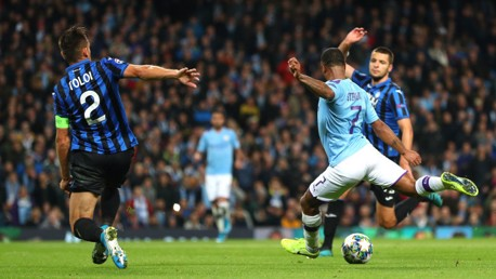 CLASS: Sterling grabs his second with an emphatic strike