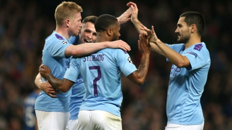 Draw sees City into last 16 as Group C winners