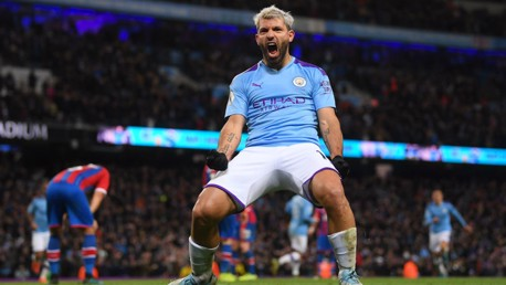 Aguero double not enough as Palace snatch point