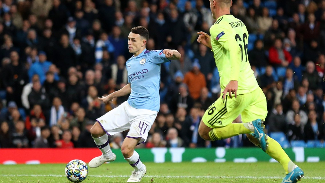 Foden leads City's Young Lions call ups