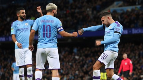 City ease into Carabao Cup last eight