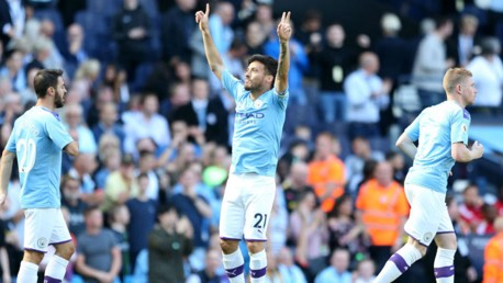 Which TV channel is Man City v Aston Villa on?