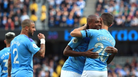 Fernandinho: Brighton win perfectly timed