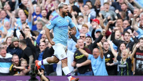 CLINICAL: Sergio Aguero puts City back in front.