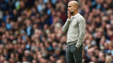 'A bad day but we'll come back fighting' says Pep