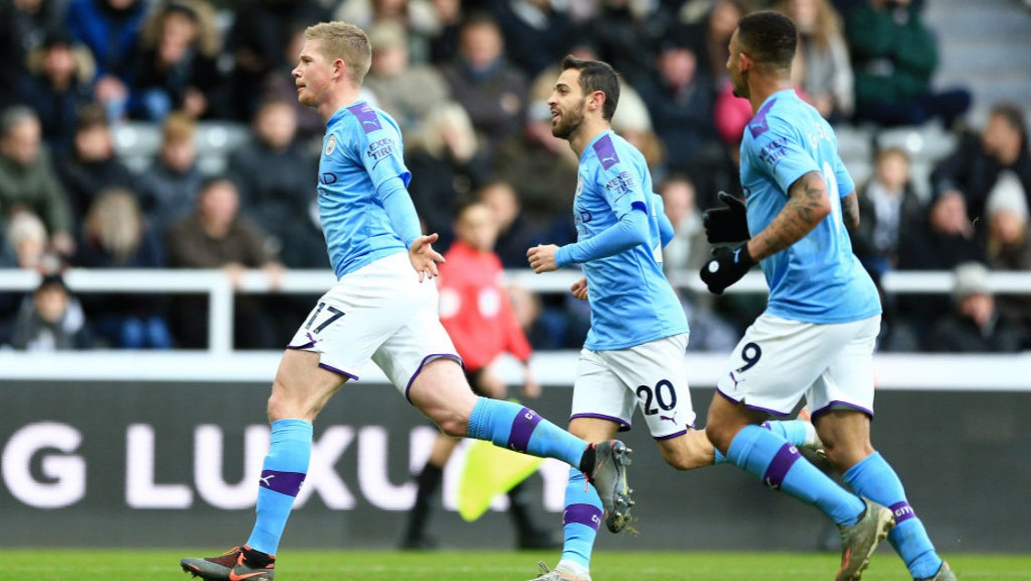 De Bruyne strike scoops Goal of the Month
