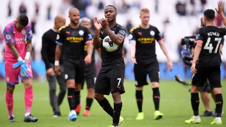 Sterling hails 'brilliant' City
