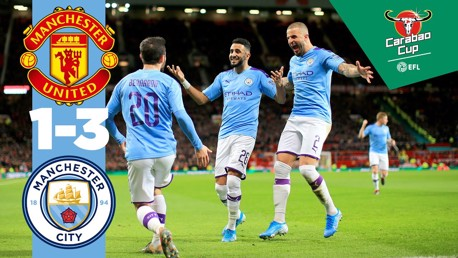 United 1-3 City: Full match replay