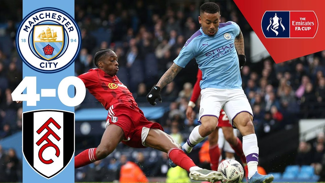 City 4-0 Fulham: Full match replay